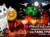 Súťaž o vstupenky na Halloween do Familyparku