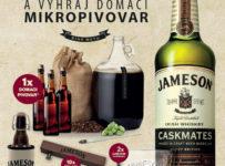 Veľká Jameson súťaž o domáci mikropivovar