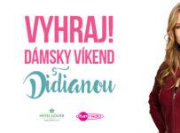 Vyhraj dámsky víkend v hoteli Golfer v Kremnici s Didianou
