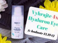 Vyhrajte 4x Hyaluron Eye Care (v hodnote 13,19 €)