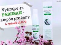 Vyhrajte 4x PARUSAN Stimulátor Šampón pre ženy (v hodnote 10,70 €)