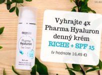 Vyhrajte 4x Pharma Hyaluron denný krém RICHE + SPF 15