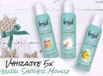 Vyhrajte 5x fenjal Shower Mousse - sprchovú penu
