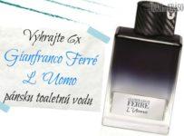 Vyhrajte 6x Gianfranco Ferré L´Uomo pánsku toaletnú vodu