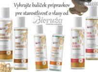 Vyhrajte balíček prípravkov pre starostlivosť o vlasy
