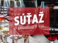 Vyhrajte kolekciu vín z Národného salónu