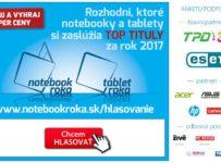 Notebook roka 2017, hlasujte a vyhrajte atraktívne ceny