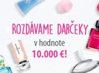 Rozdávame darčeky v hodnote 10.000 € odmeníme 50 zákazníkov!