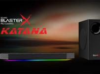 Súťaž o Creative Sound BlasterX Katana