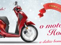 Súťaž o motocykel Honda SH125i a ceny v hodnote 3780€