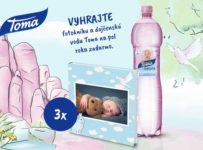 Súťaž o zásobu dojčenskej vody Toma Natura na pol roka a fotoknihu