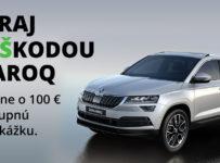 Vyhraj 100-eurovú poukážku do Škoda e-shopu