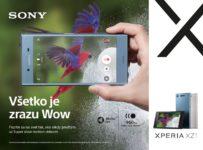 Vyhraj Xperia XZ1 od Sony, s ktorým je všetko Wow