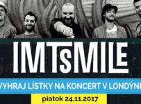 Vyhraj lístky na koncert IMT Smile v Londýne