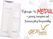 Vyhrajte 4x Medul jemný šampón od francúzskej kozmetiky GERnétic