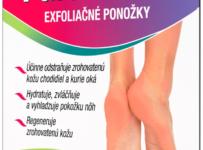 Vyhrajte 4x Parasoftin Exfoliačné ponožky od naturprodukt.sk