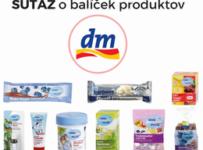 Vyhrajte balíček zdravých produktov od dm drogerie markt
