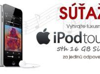 Vyhrajte luxusný Apple iPod Touch 5th 16 GB Silver