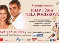 Vyhrajte vstupenky na veľkolepý koncert Nely Pociskovej a Filipa Tůmu