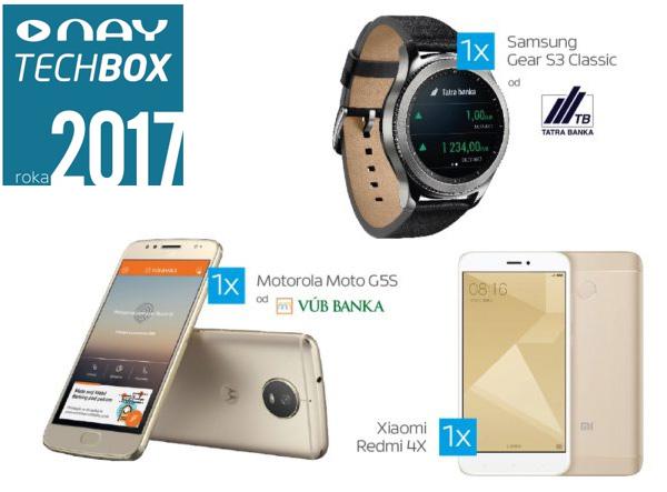 NAY TECHBOX roka 2017 a vyhraj hodnotné ceny