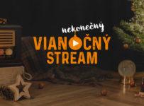 Nekonečný vianočný stream, vyhraj dovolenku za 3.000 Eur