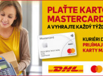 Plaťte kartou Mastercard a hrajte o ceny v hodnote 3000€