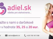 Súťaž o darčekové poukážky na nákup v e-shope Adiel.sk