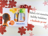 Súťaž o tri vianočné balíčky Indulona v hodnote 30 eur