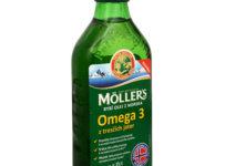 Súťaž o 2x Möller`s rybací olej Omega 3 z tresčej pečene