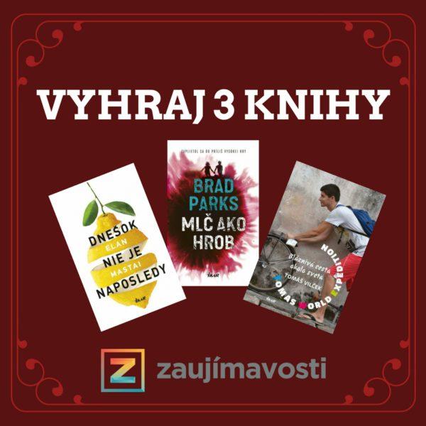 Súťaž o tri vynikajúce knihy