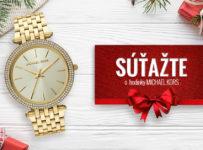 Vianočná súťaž o dámske hodinky Michael Kors