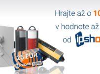 Vianočná súťaž s iPshop o jednu z 10 cien v hodnote 500€