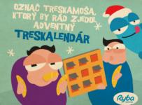 Vyhraj Adventný Treskalendár v podobe 24 balení Tresky Exklusiv od Ryby Košice
