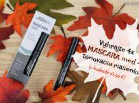 Vyhrajte 4x MASCARA med - tónovaciu riasenku od naturprodukt.sk