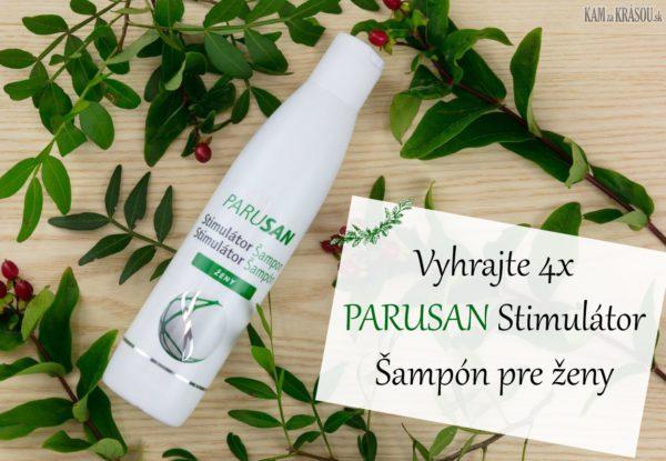 Vyhrajte 4x PARUSAN Stimulátor Šampón pre ženy