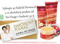 Vyhrajte 4x balíček Dermacol a darčekový poukaz v hodnote 50 €