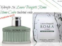 Vyhrajte 5x Laura Biagiotti Roma Uomo Cedro toaletnú vodu (40 ml)