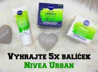 Vyhrajte 5x balíček Nivea Urban - denný krém, nočný krém a masku