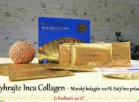 Vyhrajte Inca Collagen - 100 % Morský kolagén (v hodnote 40 €)