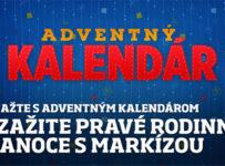 Vyhraj s Adventným kalendárom televízie Markíza