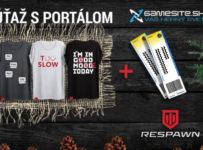 Súťaž o tričká novej hernej značky oblečenia Respawn