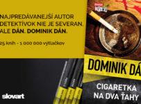 Vyhraj kompletnú sériu krimi románov od Dominika Dána