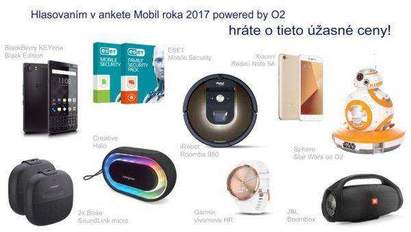 Mobil roka 2017 powered by O2, vyhrajte skvelé ceny!