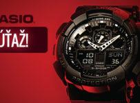 Súťaž o športové hodinky Casio GA-100-1A1