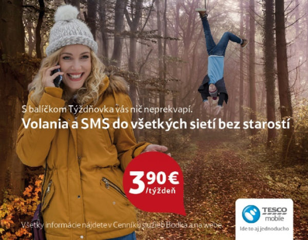 Vyhrajte s Tesco mobile smartfón Huawei Y5 II