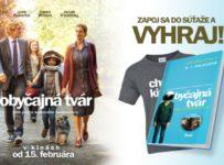 Súťaž s filmom OBYČAJNÁ TVÁR o knižku a filmové tričko