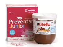 Súťaž Preventan® Junior 90 tbl. + Nutella