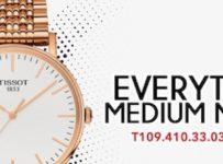 Súťaž o hodinky TISSOT Everytime