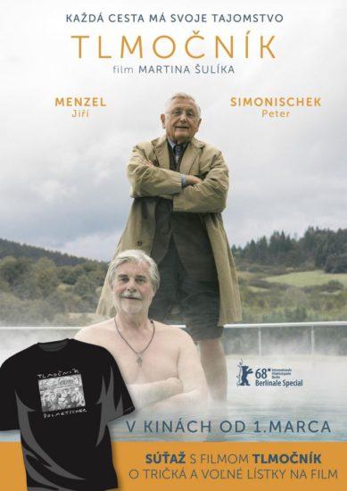 Súťaž o reklamné predmety s filmom TLMOČNÍK