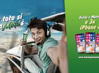 Vyhraj jeden z troch iPhoneX, alebo zásobu tvojej obľúbenej Mäty